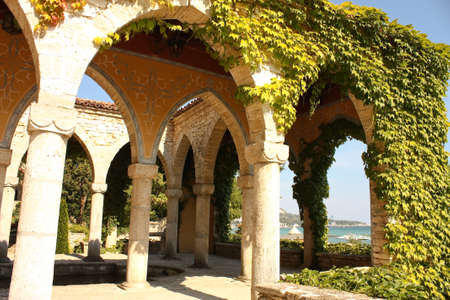 balchik: Residence of the Romanian queen by the black sea. Balchik, Bulgaria. it has one of the largest botanical gardens in Europe.