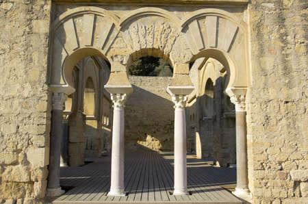 medina: Madinat Al-Azahra or Medina Azahara  Cordoba  Andalusia  Spain  Stock Photo