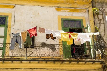 Daily scene in Old Havana. HAVANA, CUBA on September 2, 2011 Stock Photo - 13337334