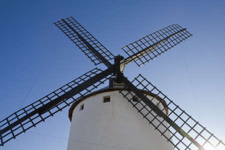 real madrid: Sunrise in Castile Campo de Criptana, Castile-La Mancha, Spain In Campo de Criptana where Don Quixote mistakes windmills for giants, in the book of Miguel de Cervantes
