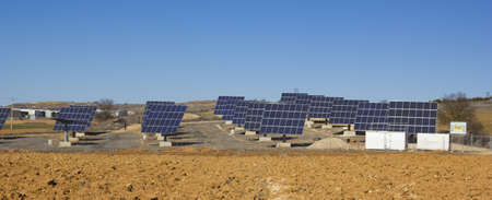 photovoltaic power station: Photovoltaic plant  Green and Renewable Energy