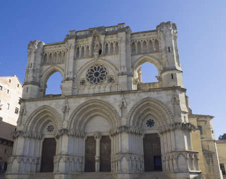 castilla: Cathedral of Cuenca, Castilla la Mancha, Spain  Stock Photo