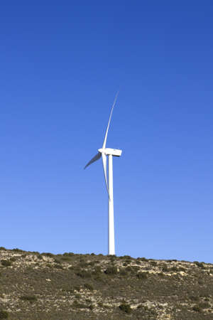 Wind Turbine Field;  photo