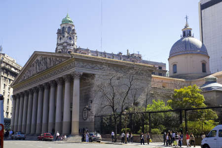 aires: The Buenos Aires Metropolitan Cathedral  Spanish  Catedral Metropolitana de Buenos Aires  is the main Catholic church in Buenos Aires, Argentina  Contains the Mausoleum of General San Martin Editorial