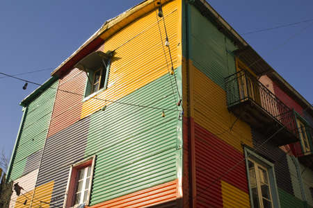 la boca: The colourful buildings of La Boca, Buenos Aires, Argentina