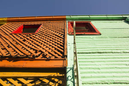 The colourful buildings of La Boca, Buenos Aires, Argentina photo