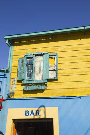 The colourful buildings of La Boca, Buenos Aires, Argentina