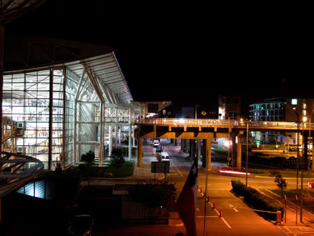Comodoro Arturo Merino Ben'tez International Airport, also known as Santiago International Airport and Pudahuel Airport Stock Photo - 16979182