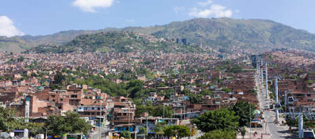 Stadtansicht von Medellin, Kolumbien Standard-Bild - 17011185