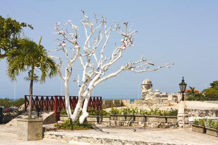 barajas: San Felipe de Barajas castle in  Cartagena de indias  Colombia