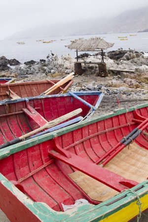 fishing industry: Traditional fishing boats, Pacific Coast of Chile