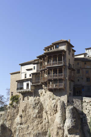 translated: The Casas Colgadas  translated as Hanging Houses , also known as Casas Voladas, Casas del Rey and, erroneusly, Casas Colgantes, is a complex of civil houses located in Cuenca, Spain