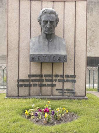 artigas: Statue of General Artigas in Montevideo, Uruguay
