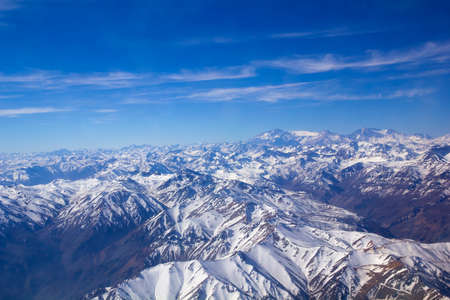 aconcagua: Range of the Andes between Argentina and Chile