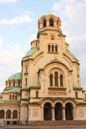 homage: The St  Alexander Nevsky Cathedral, a Bulgarian Orthodox cathedral in Sofia, the capital of Bulgaria  Is one of the largest Eastern Orthodox cathedrals in the world, as well as one of Sofia