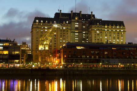 sarmiento: Puerto Madero by night, Buenos Aires