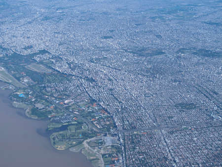 Buenos Aires, one of the largest megacities in the world, with pollution problems photo