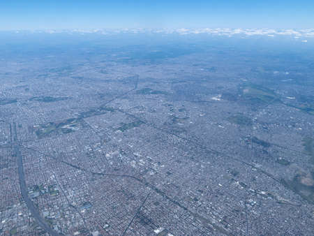 aires: Buenos Aires, one of the largest megacities in the world, with pollution problems