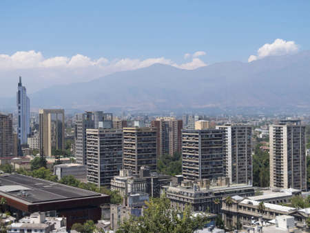Overview of Santiago de Chile, Chile photo