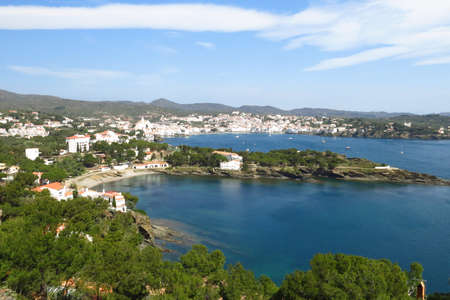 the Village of cadaques, Costa Brava, Catalonia, Spain. photo