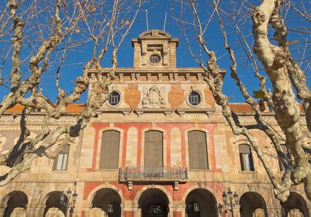 autonomia: Parlamento de Catalu�a en la construcci�n de Parque de la Ciutadella en Barcelona, ??Espa�a