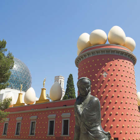 surrealist: FIGUERES, SPAIN - JUNE 14: Dali Museum in Figueres, Spain on June 14, 2012. Museum was opened on September 28, 1974 and houses largest collection of works by Salvador Dali. Editorial