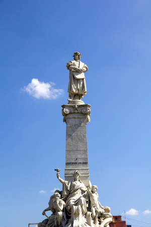 descubridor: monumento de Col�n. Buenos Aires, Artentina