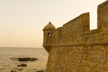 cadiz: Old fortress of Cadiz. Andalucia, Spain