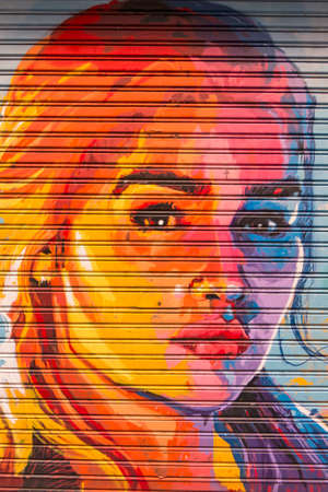 BARCELONA - NOV 16: Tribute to the actress Emilia Clarke on November 16, 2016 in Barcelona, Spain. The actress plays Daenerys Targaryen, aka Khaleesi, on the HBO Thrones Game TV series. Editorial
