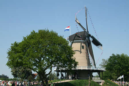 soest: Opening of Windmill in Soest, Netherlands