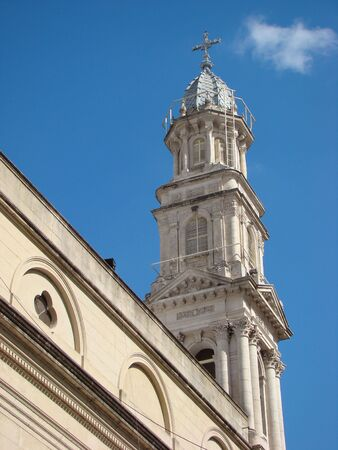 Tower of Rosarios Cathedral (Argentina) Stock Photo