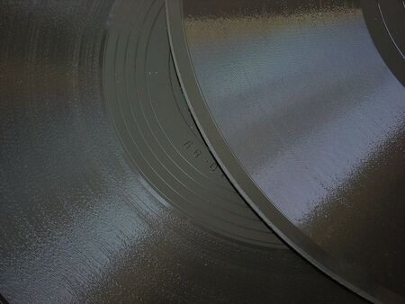 Shellac 75 rpm records background                                photo