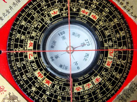 Feng shui compass (Luopan) Stock Photo - 4140887