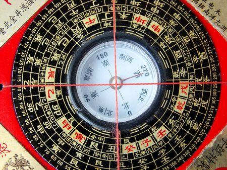 ying: Feng shui compass (Luopan)