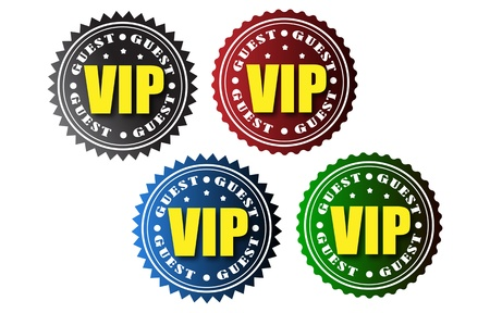 Vip badges Stock Vector - 21745627