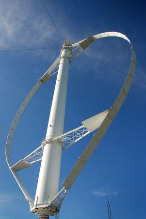 Eolian, Vertical Wind turbines, Quebec, Canada photo