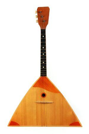 Balalaika, traditional russian guitar Imagens - 2529420
