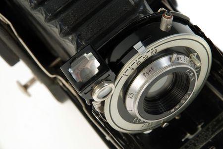 folding camera: vintage Photo folding camera, roll film  Stock Photo