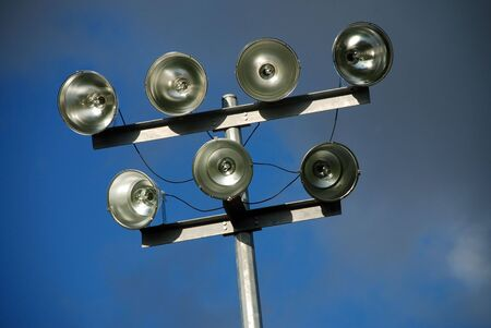 lighting system: Lighting system for amateur sports field off