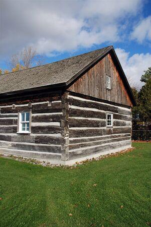 Beautiful log cabin  photo
