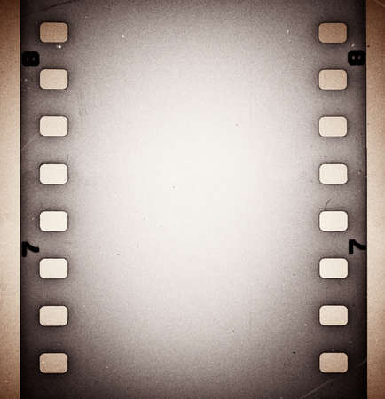 Old grunge film strip background photo