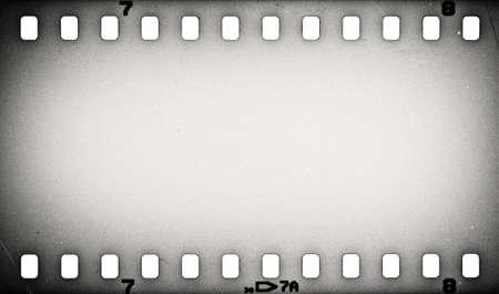 film strip: Old grunge film strip background Stock Photo