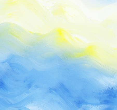 抽象彩色水彩背景。