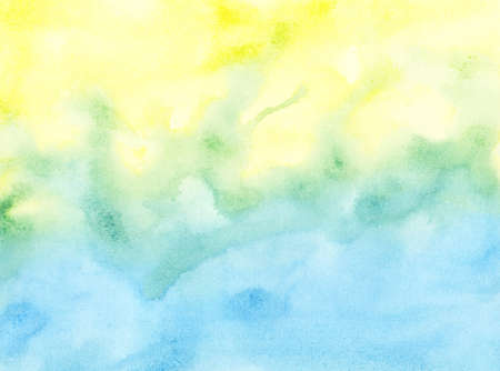 Abstrait aquarelle color�e. photo