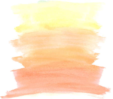 Abstract colorful watercolor brush strokes, may be used as background photo
