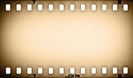 Old grunge film strip background Stock Photo
