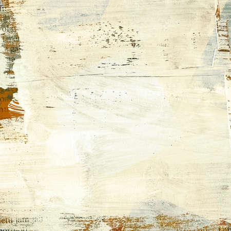 aged paper: Painted grunge paper texture with space for text