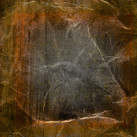 Crumpled grunge paper texture photo