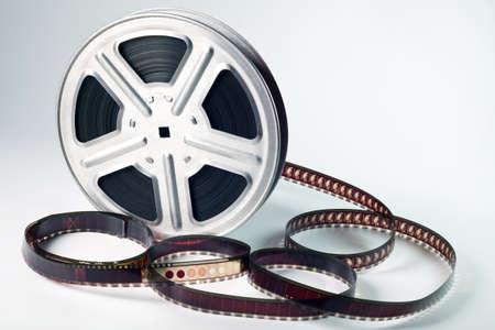 carrete de cine: Imagen Old movimiento del rollo de pel�cula