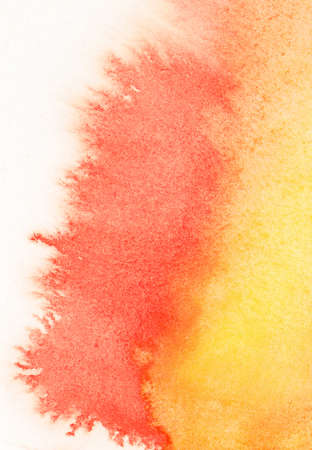 Abstract watercolor leaking on white paper texture Stock Photo - 15130497